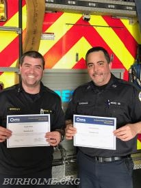 New EVOC Instructors Bradley and Gonzalez